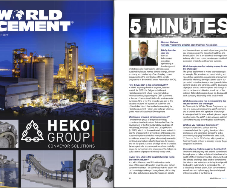 Magazine World Cement