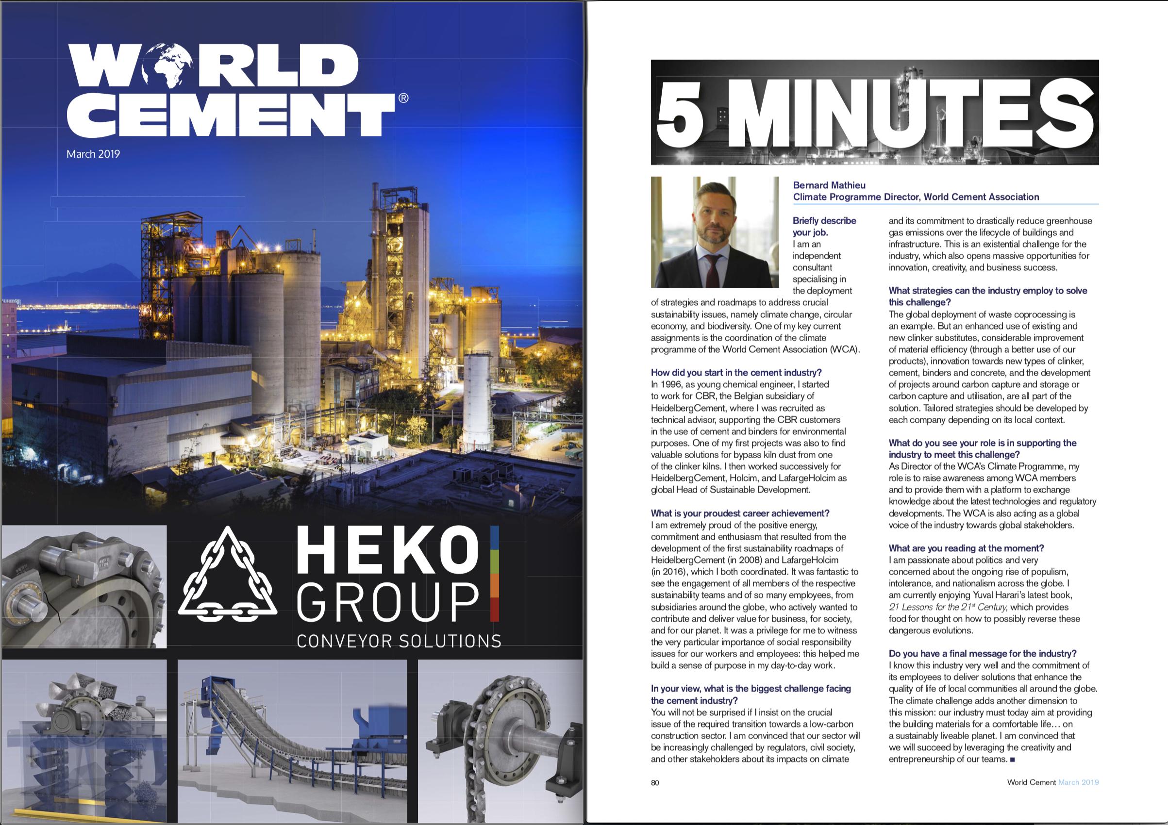 Magazine World Cement